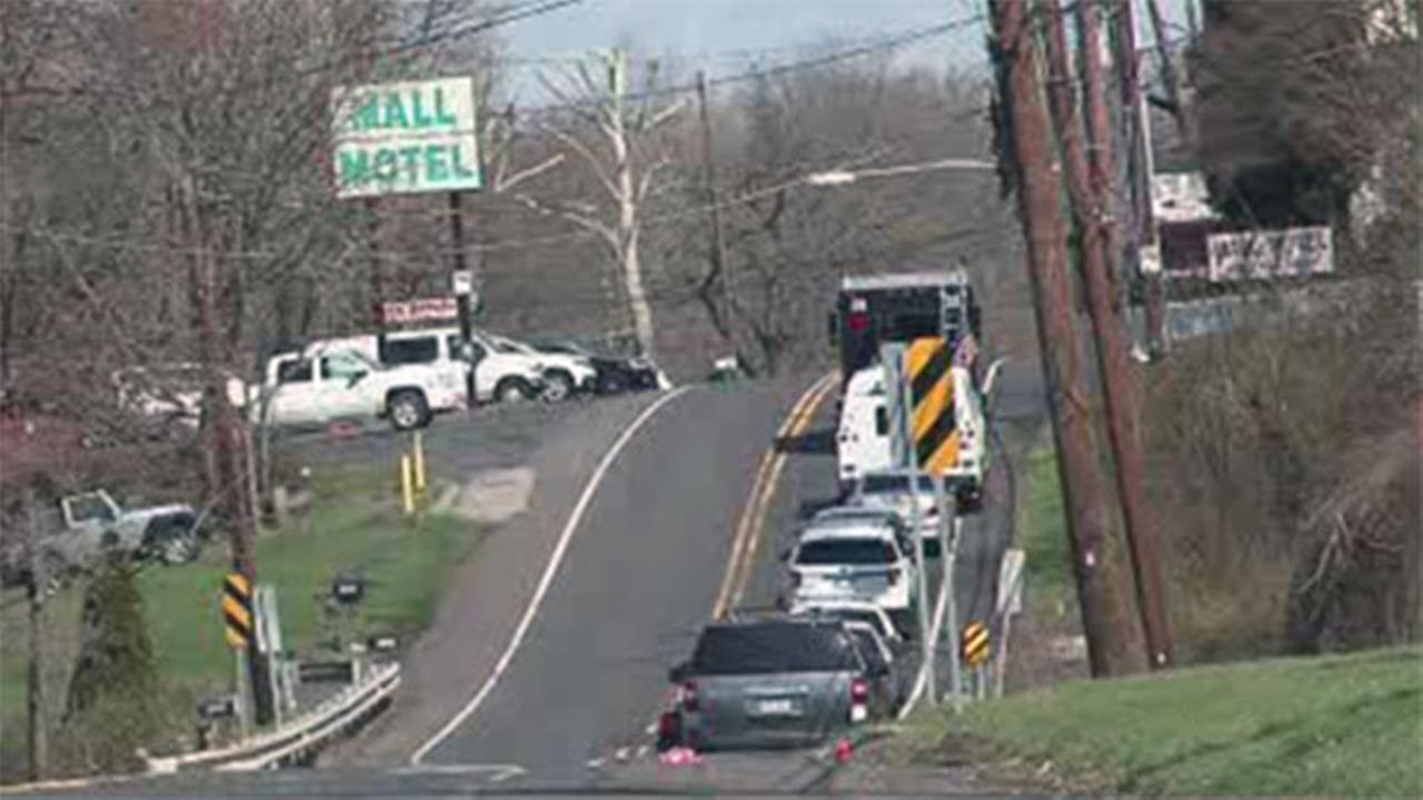 Arrest made after standoff at Langhorne motel