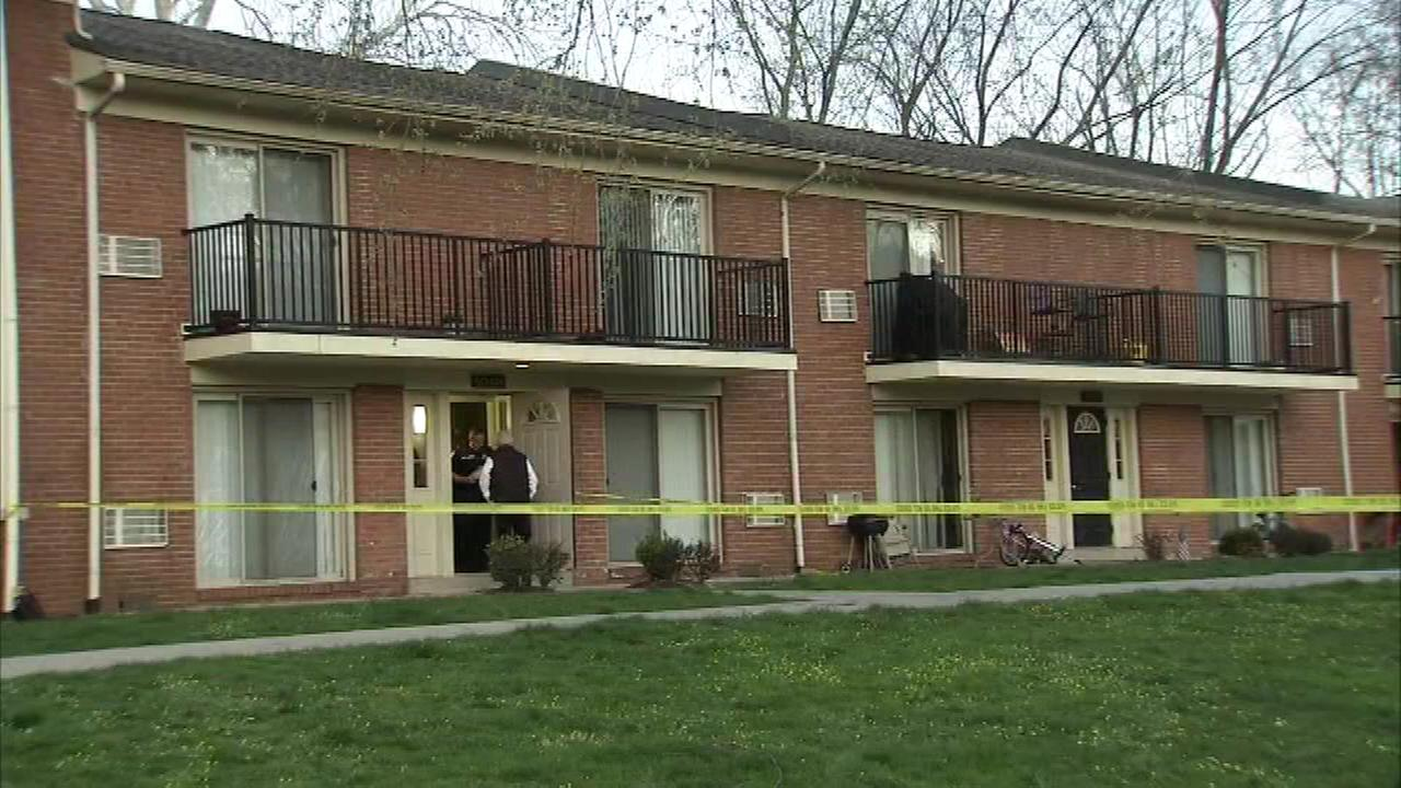 Police say a 36-year-old woman was apparently beaten and strangled to death inside her apartment.