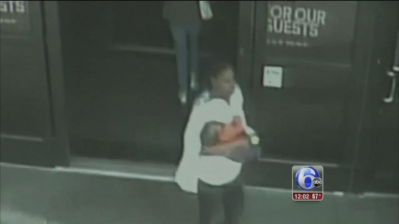 VIDEO: Police: Suspected mall baby kidnapper claimed pregnancy