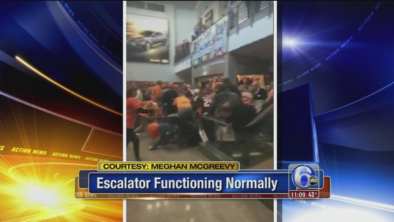 VIDEO: Wells Fargo Escalator