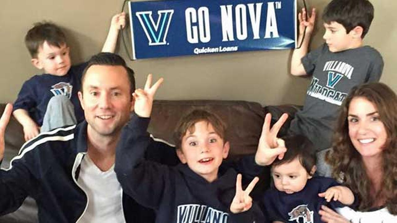 Lets go NOVA! From The Gibson FamilyFacebook/Lauren Steen Gibson