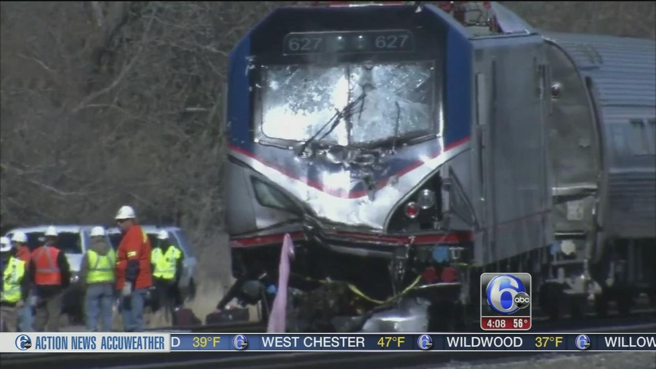 VIDEO: Service resumes after deadly Amtrak crash in Chester