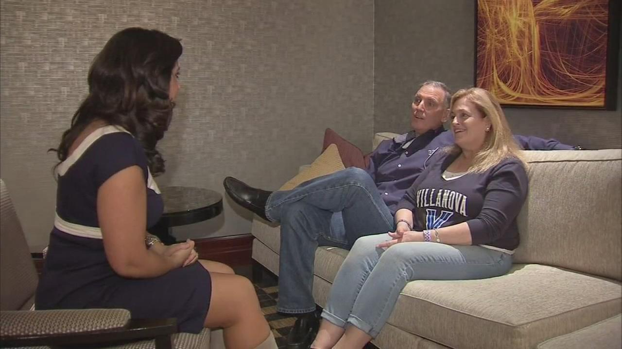 VIDEO: Ryan Arcidiacono parents are ready for the Final Four