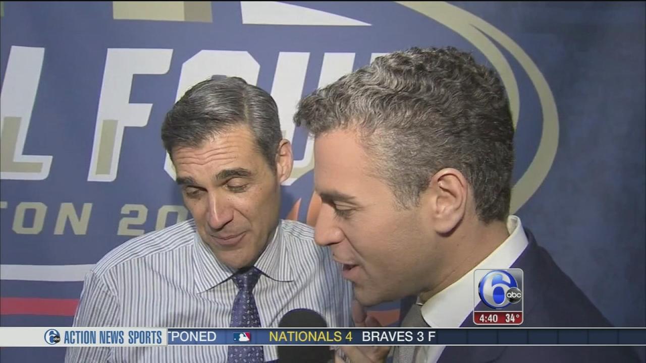 VIDEO: Villanova coach Jay Wright reacts to win