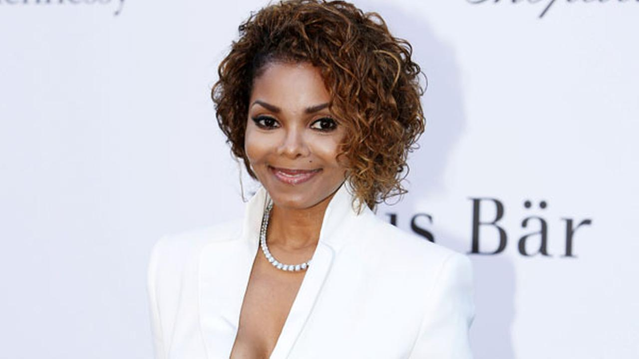 FILE - In this May 23, 2013 file photo, singer Janet Jackson arrives at amfAR Cinema Against AIDS benefit in Southern France.