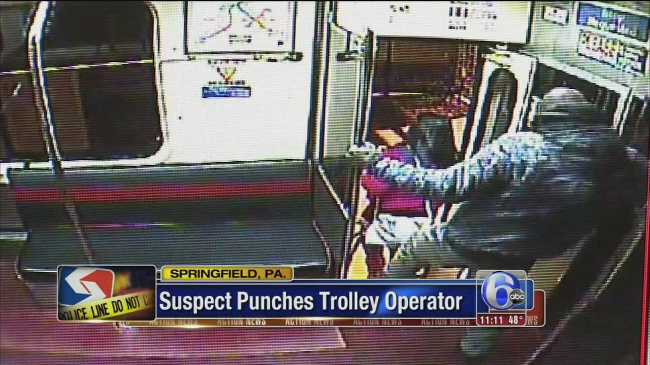 VIDEO: SEPTA trolley assault