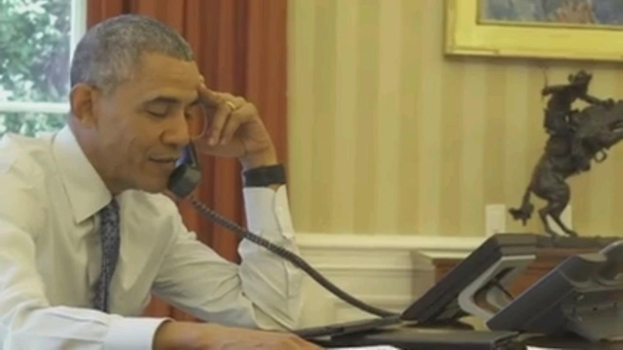 VIDEO: Obama calls Jay Wright
