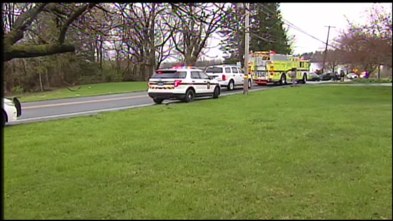 A 3-year-old girl was killed after two vehicles collided in Hanover Township, Pennsylvania.
