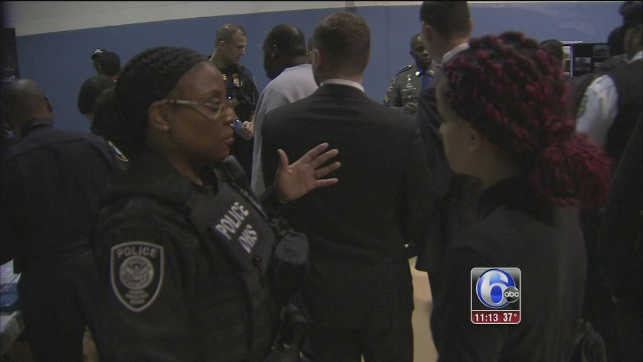 VIDEO: Police diversity career fair