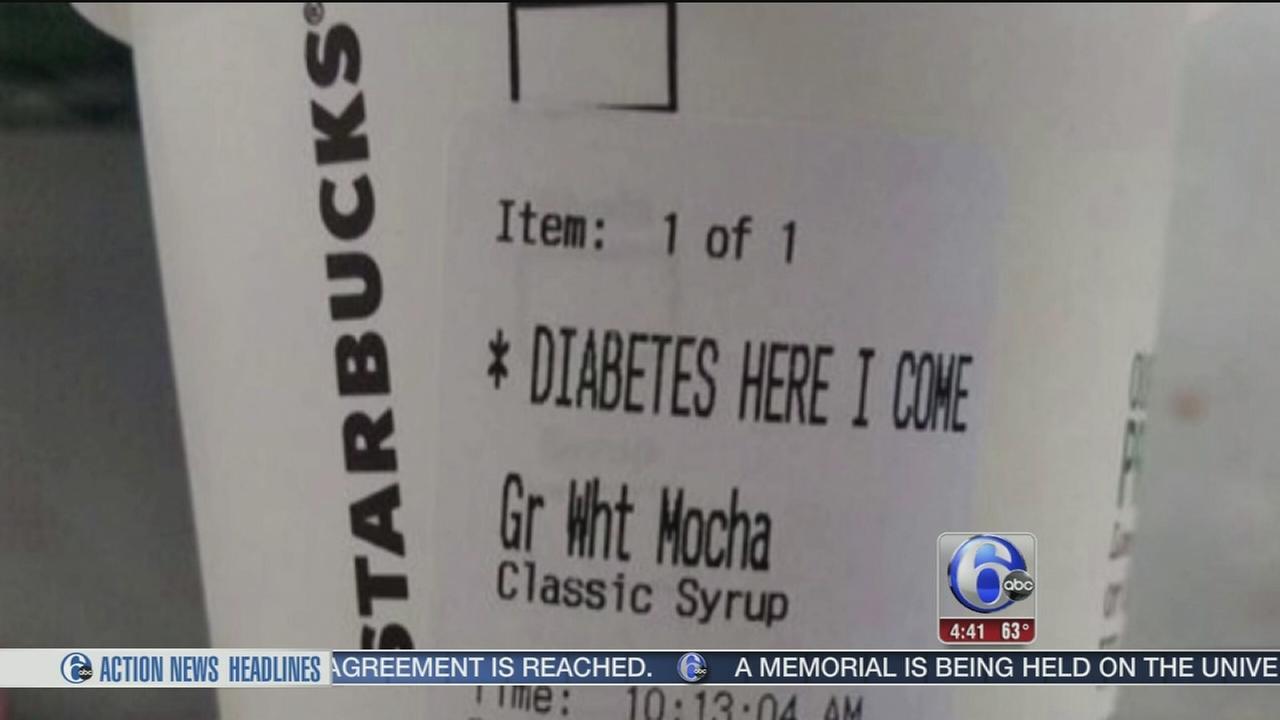 VIDEO: Insensitive message written on Starbucks cup