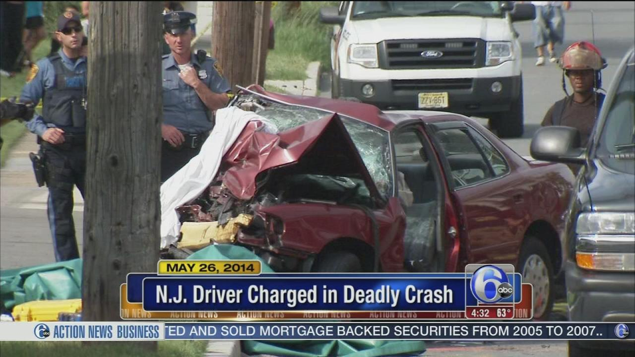 VIDEO: NJ driver charged in deadly crash