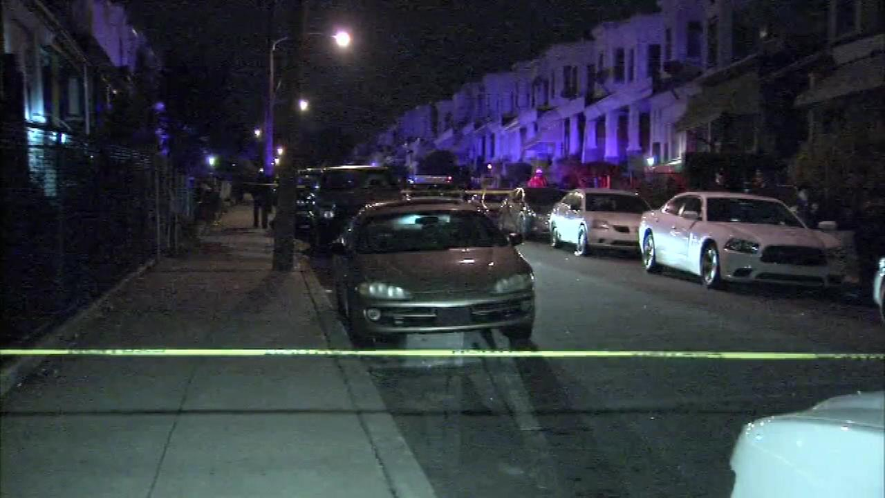 April 12, 2016: Police investigated the discovery of a murder victim inside a car in the 1600 block of North Redfield Street.
