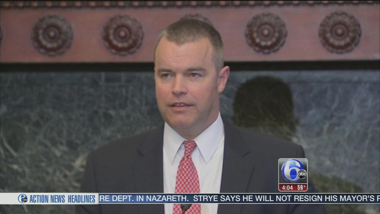VIDEO: Adam Thiel named Phila. fire commissioner