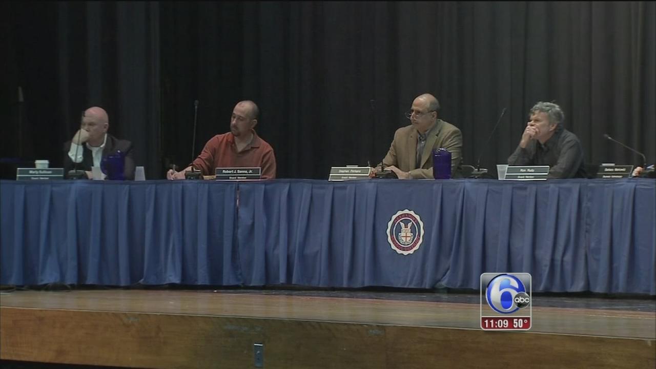 VIDEO: Neshaminy School Board votes to close 2 elementary schools