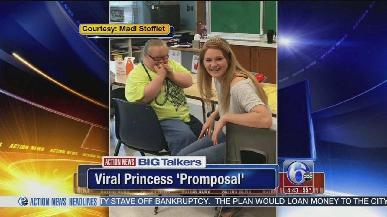 VIDEO: Berks Co. princess promposal goes viral