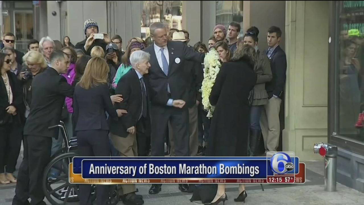 VIDEO: 3rd anniversary of Boston Marathon bombings