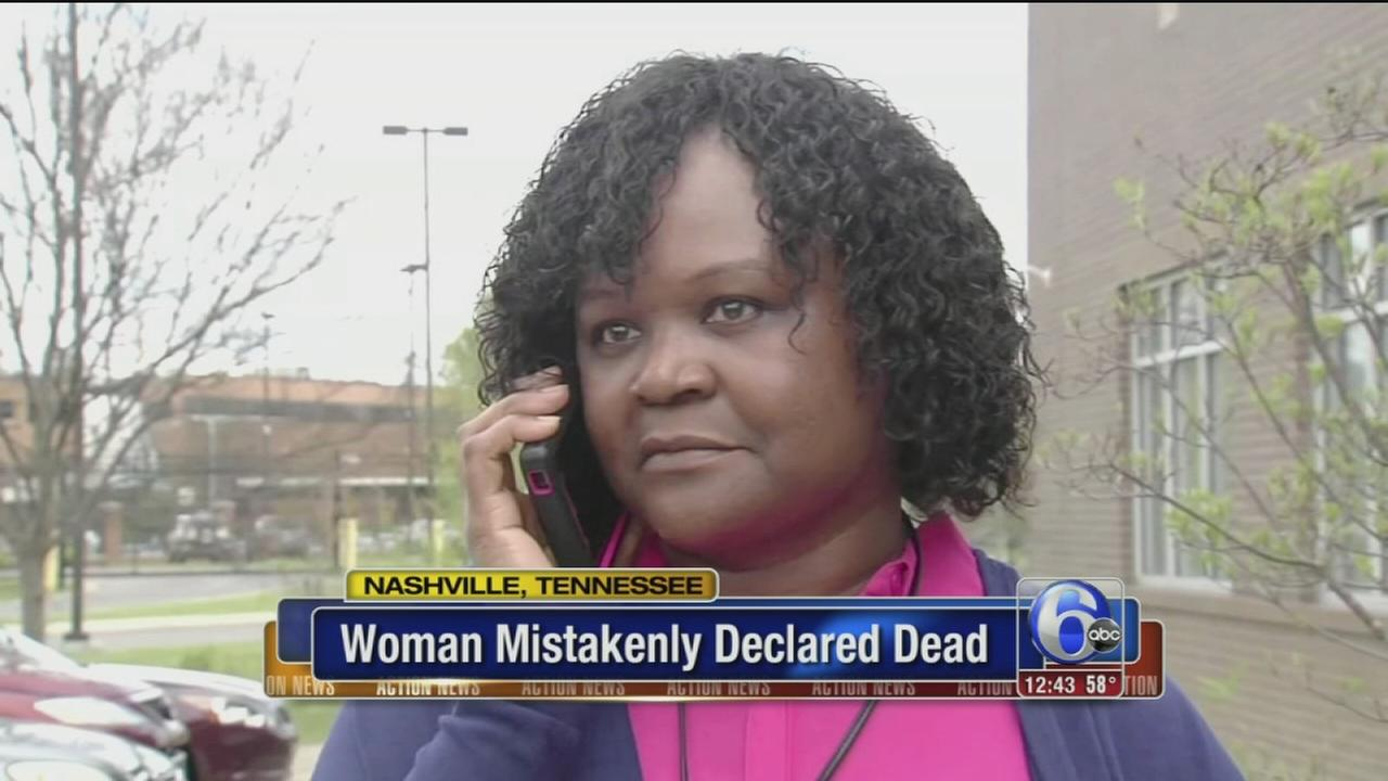 VIDEO: Tennessee woman mistakenly declared dead