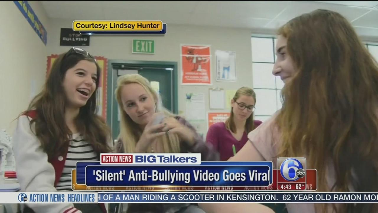 VIDEO: Silent anti-bullying video goes viral