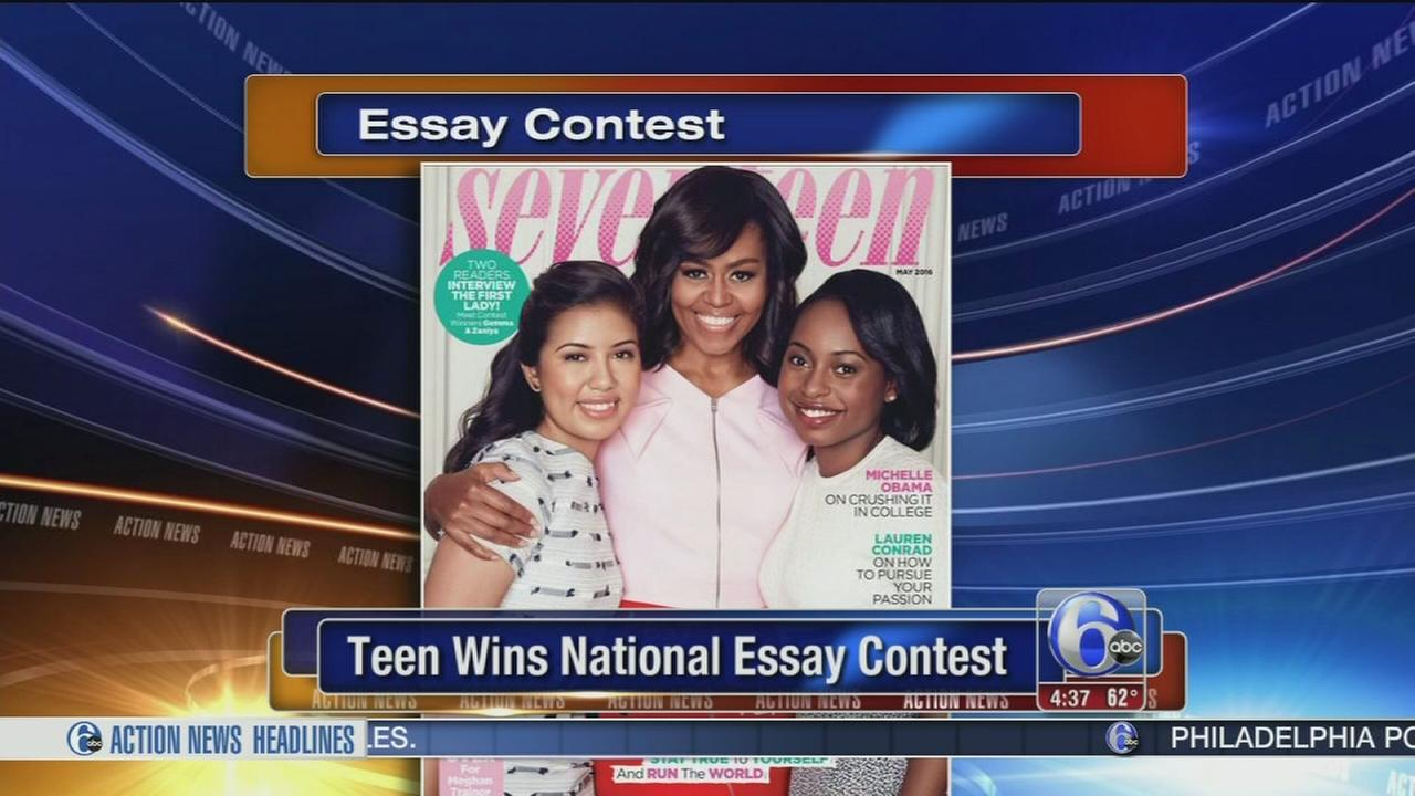 essay contest for teens Contest is for ages 10-18 3 age groups: 10-12, 13-15, 16-18 5 categories: poetry, short story, informal essay, short play, and comix contestants may enter more than one category, but only one manuscript per category.