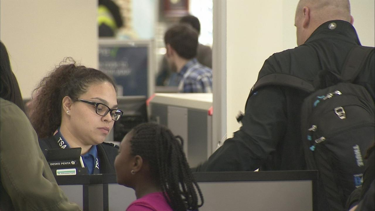 VIDEO: TSA screening at Phila. Intl Airport