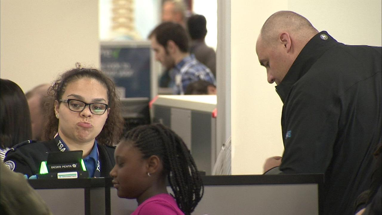At a number of airports across the country, passengers are finding incredibly long lines at TSA checkpoints.