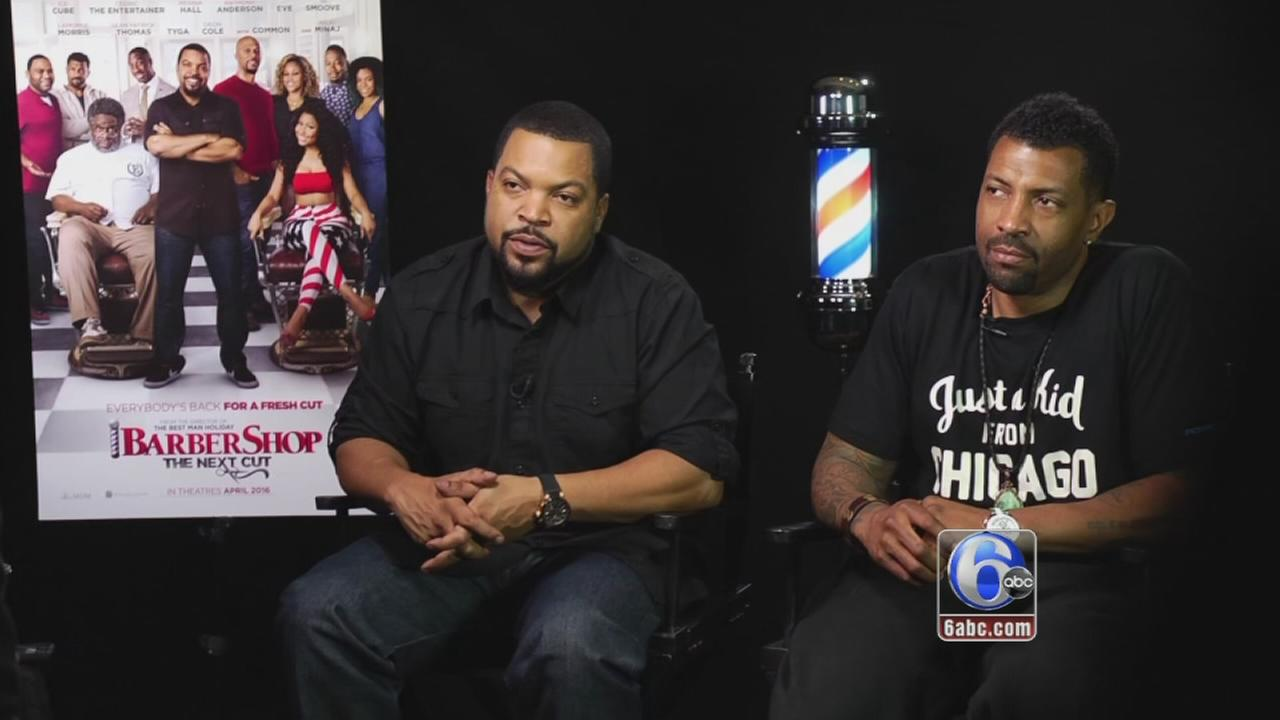 VIDEO: Barbers question Barbershop cast