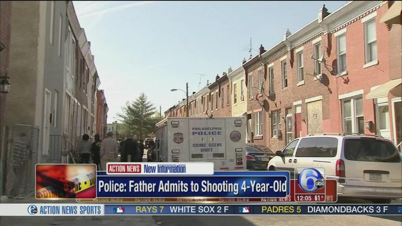 VIDEO: Father admits to shooting 4-year-old