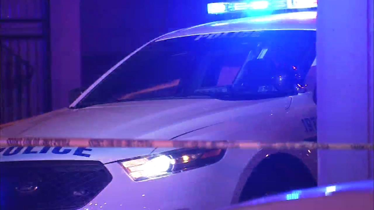 A police officer was shot in the leg in West Philadelphia.