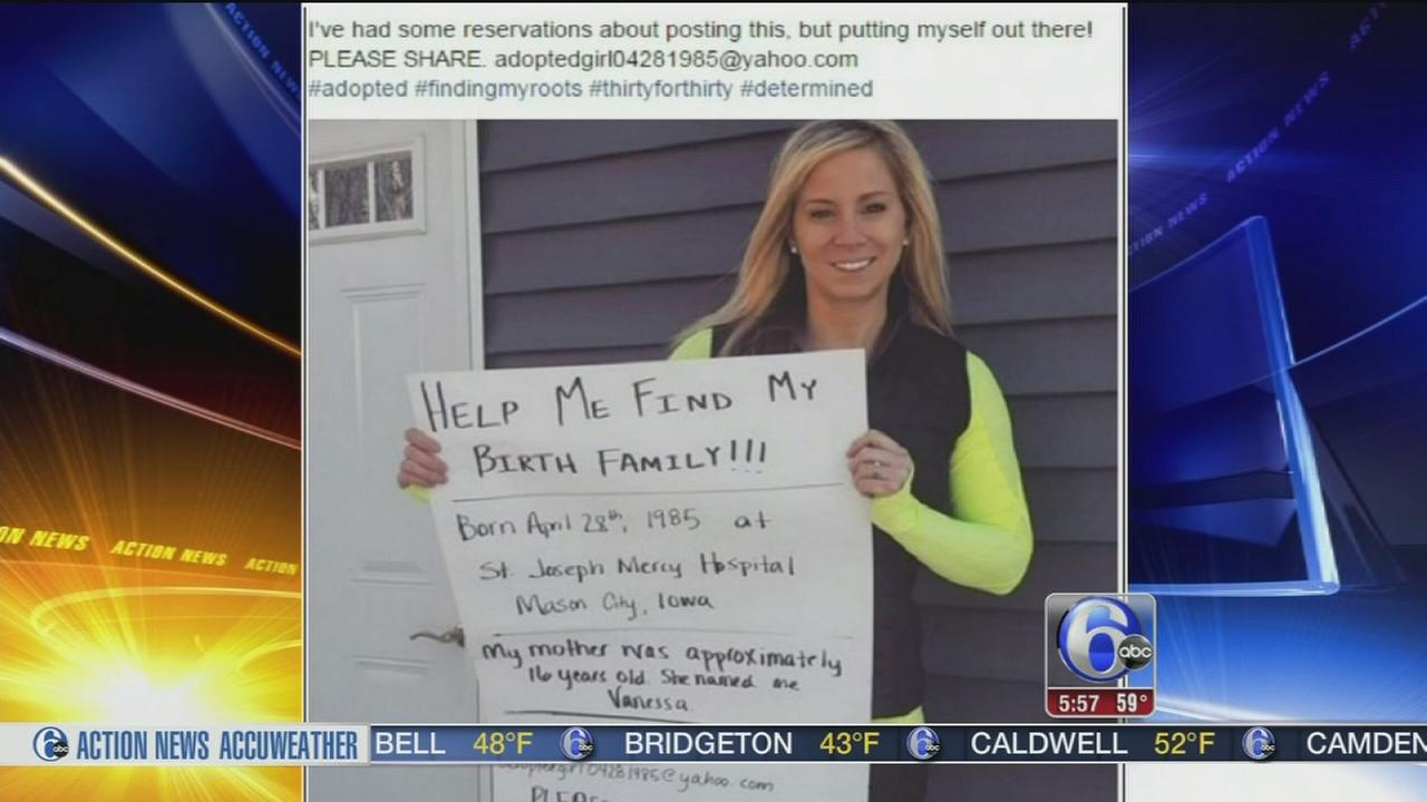 VIDEO: Iowa nurse searches for birth mother