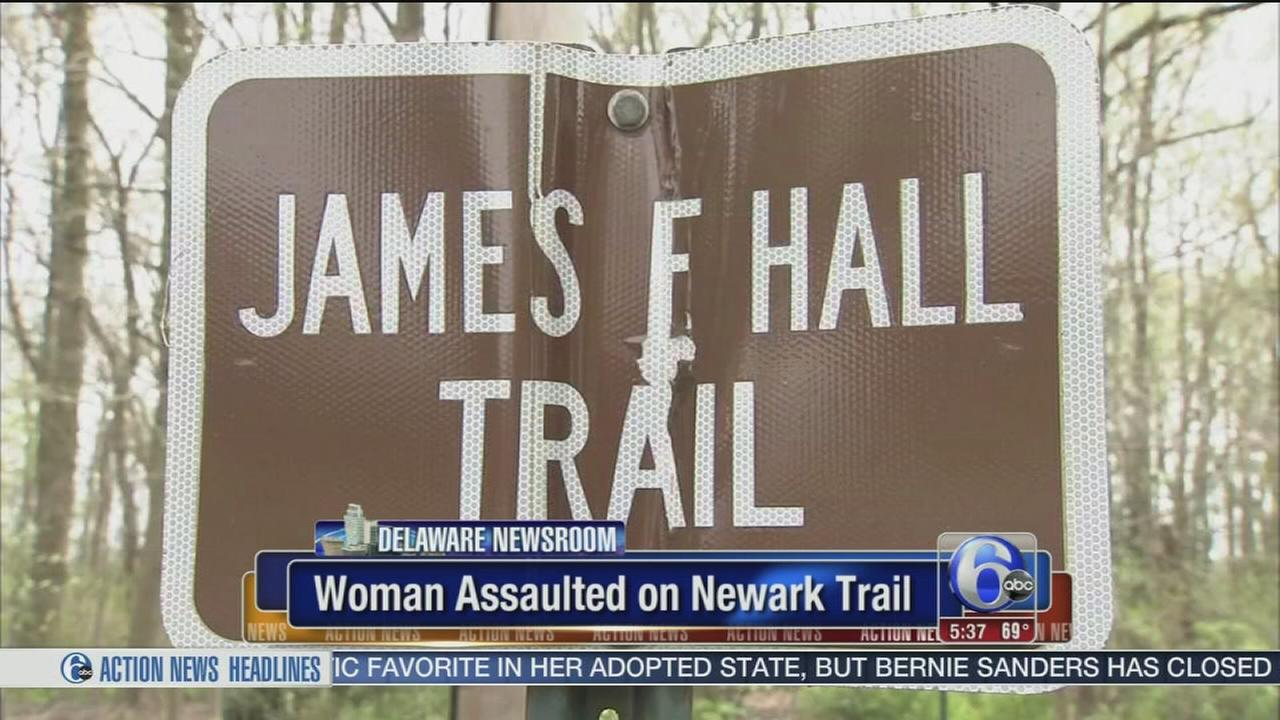VIDEO: Woman assaulted on Newark, Del. trail