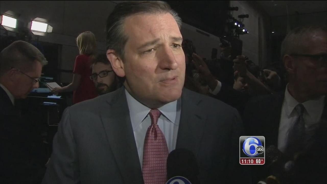 VIDEO: Ted Cruz speaks to 6abc