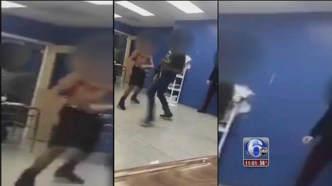 VIDEO: Exclusive: Adult watches possible student fight club
