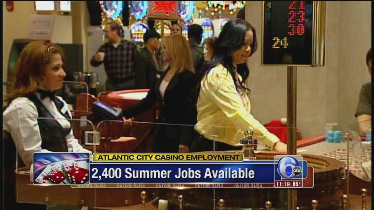 VIDEO: AC casino jobs