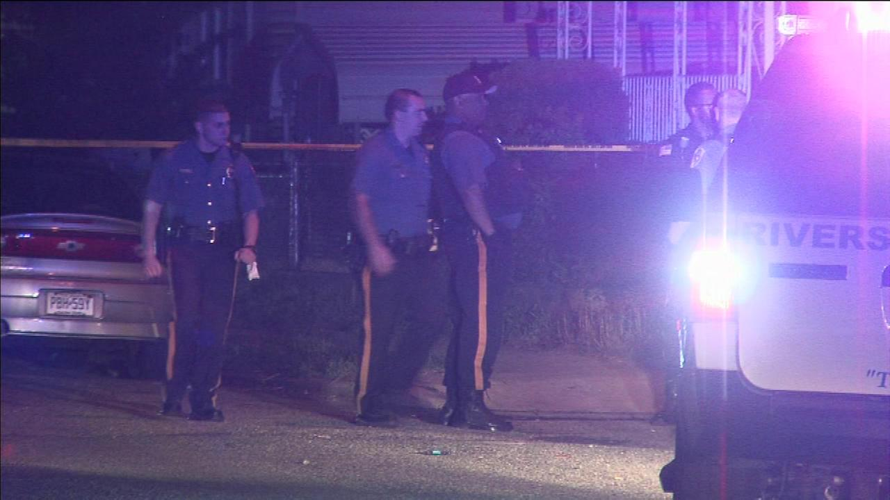 Shots were fired during a birthday party in Riverside, Burlington County.