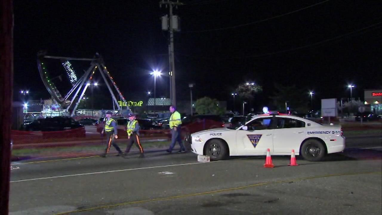 A pedestrian was seriously injured after getting hit by a vehicle near the Washington Township Carnival.