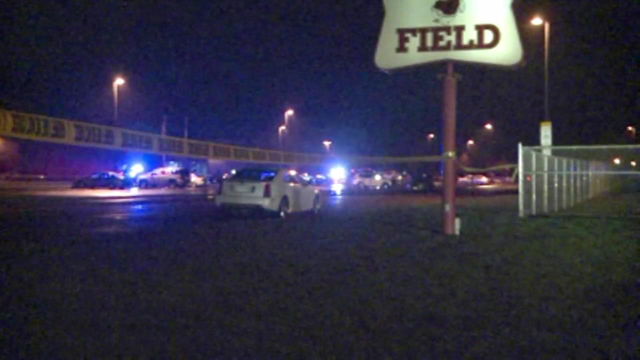 A person toting a rifle opened fire outside a high school prom, Wisconsin police said.
