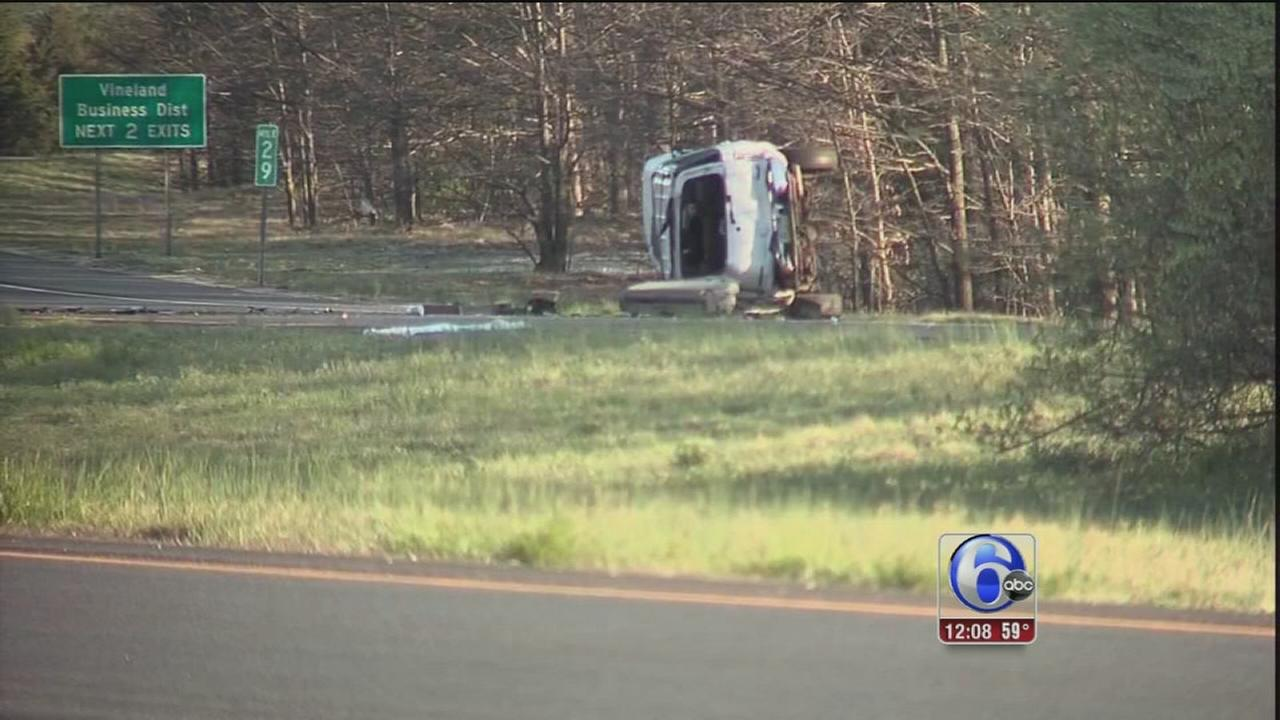VIDEO: Woman killed in Millville crash