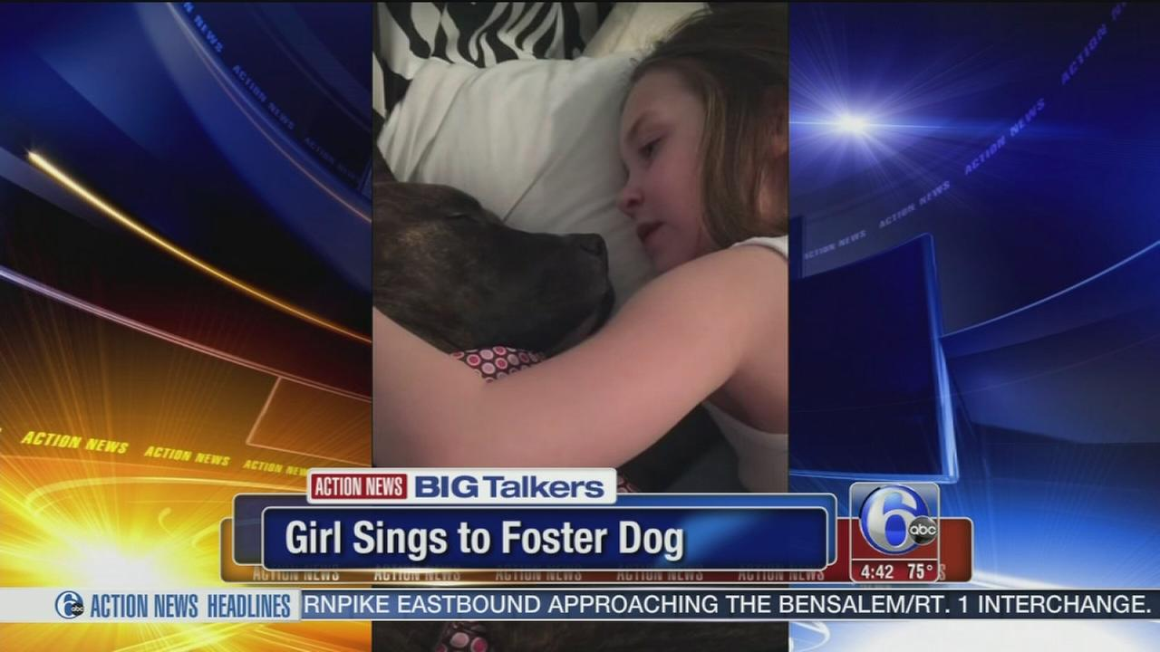 VIDEO: Gloucester Co. girl sings to foster dog in sweet viral video