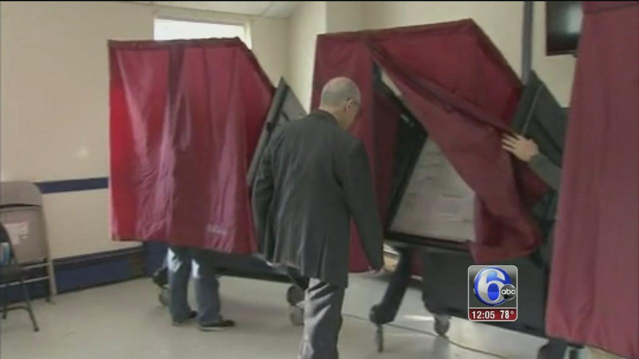 VIDEO: Steady turnout at Pa. polling places