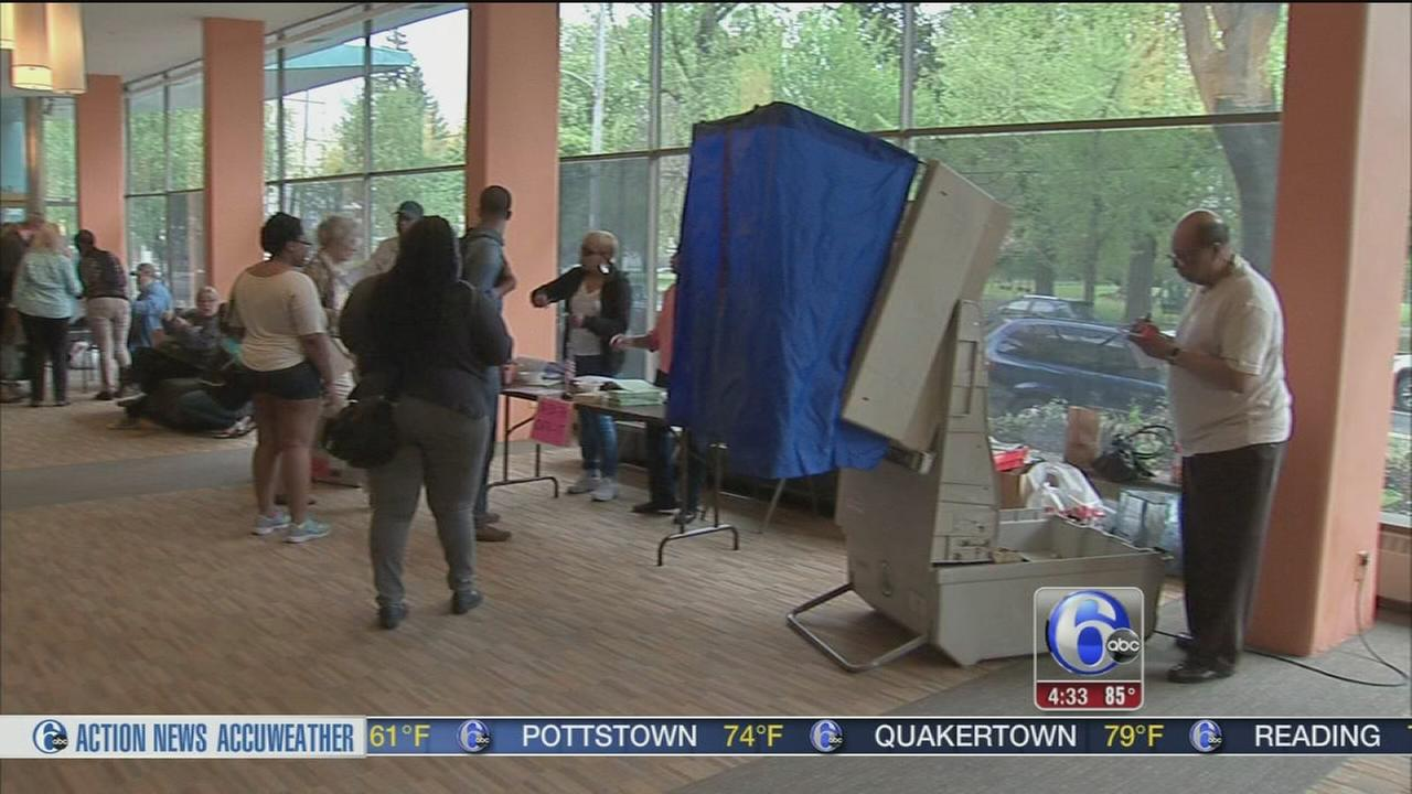 VIDEO: Problems reported at some polling precincts