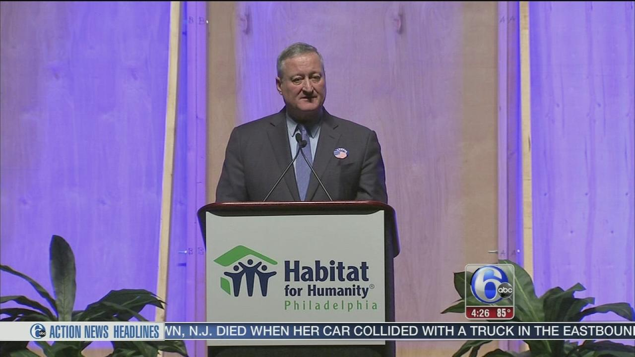 Mayor Kenney addresses Building Hope luncheon