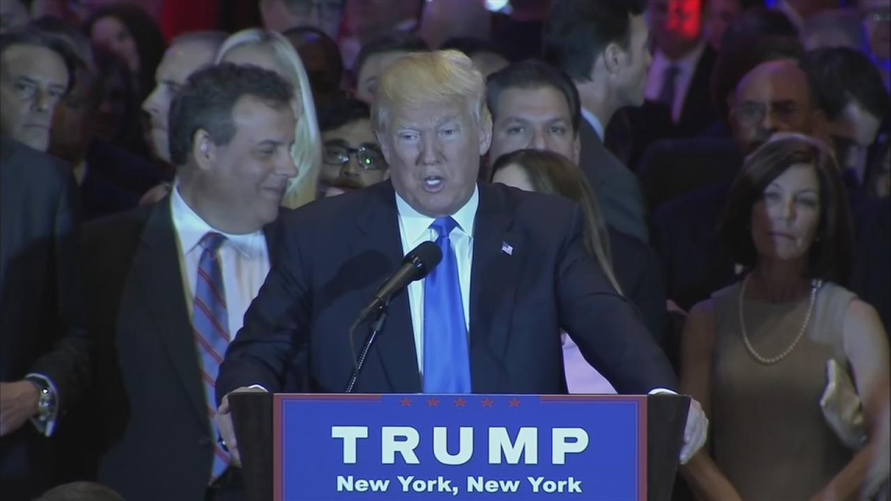 VIDEO: Trump speaks about Pa. win