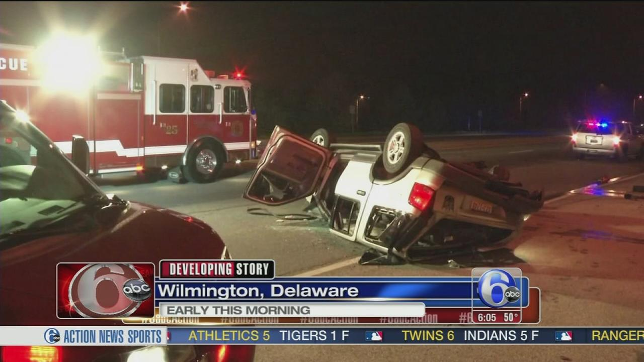 VIDEO: Driver killed in rollover crash