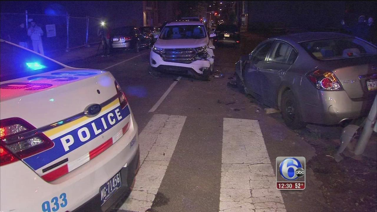 VIDEO: Officers hurt in hit-and-run