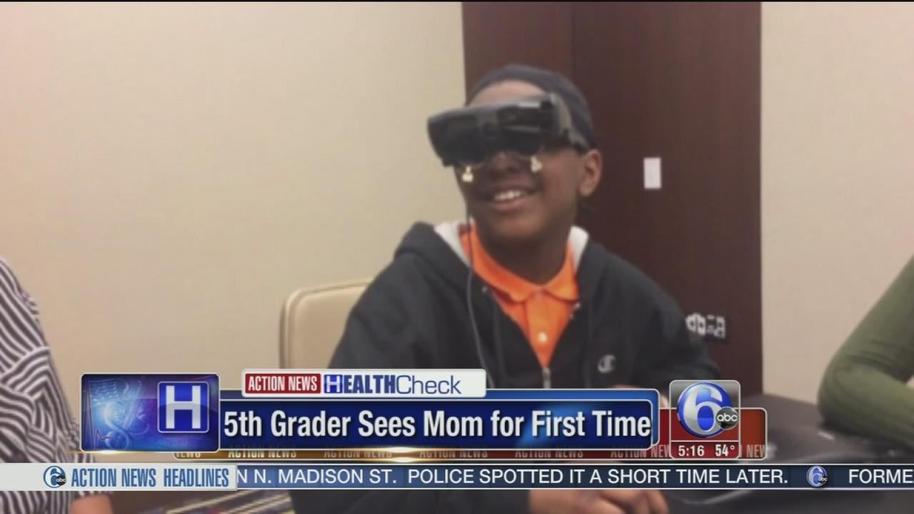 VIDEO: 5th grader sees mom for first time