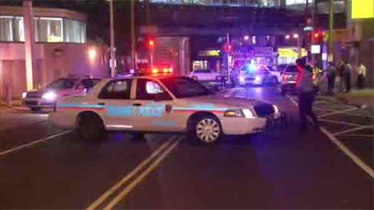 A man is critical after a shooting in the Frankford section of Philadelphia.