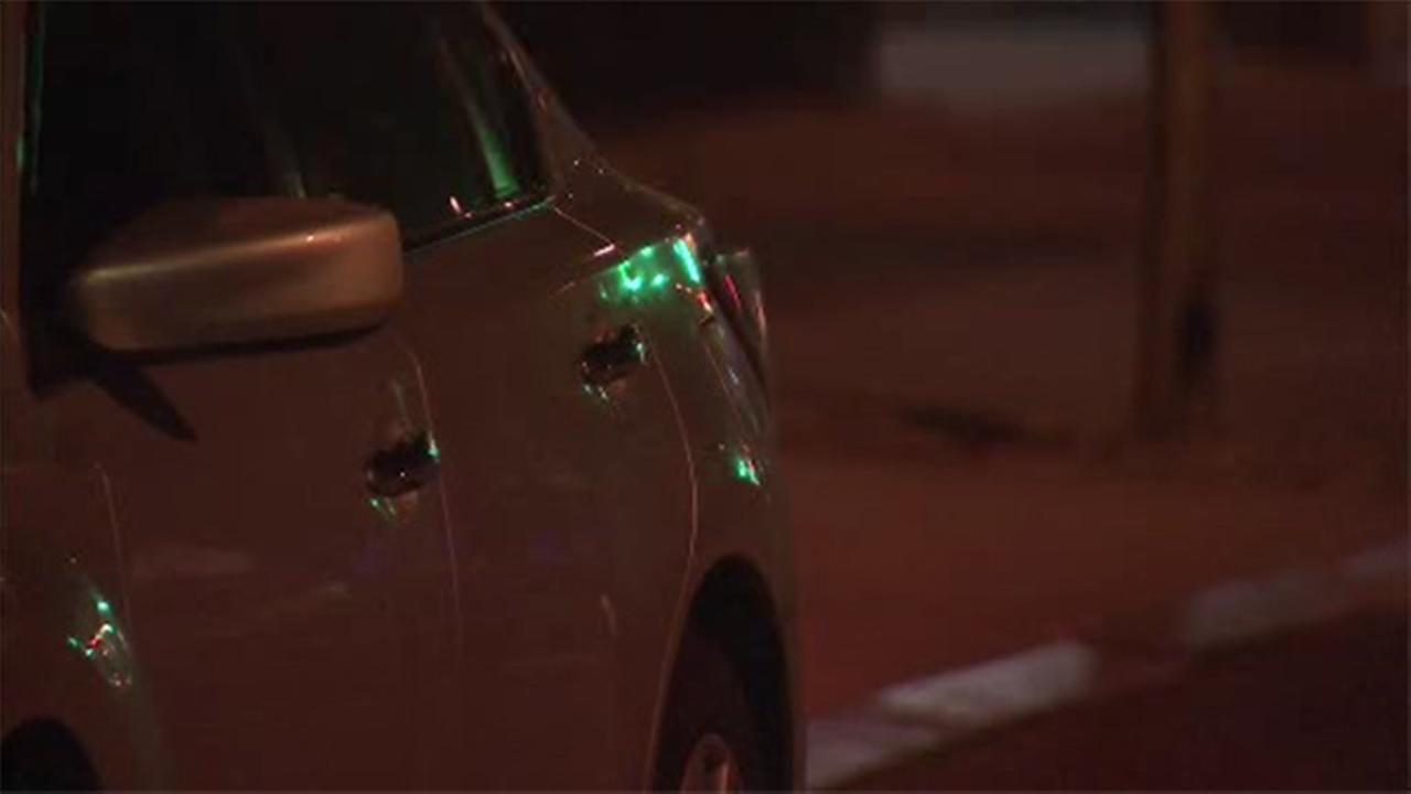 Stray bullet grazes man filling car with gas in North Philadelphia