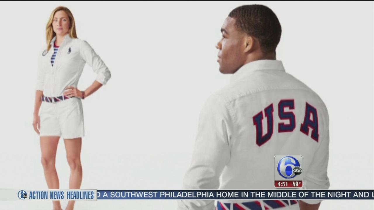 VIDEO: Closing ceremony uniforms unveiled