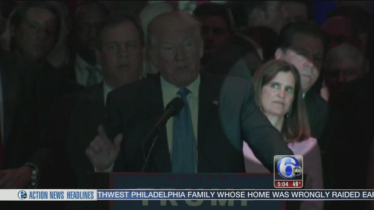 VIDEO: Governor Christie addressed eye roll