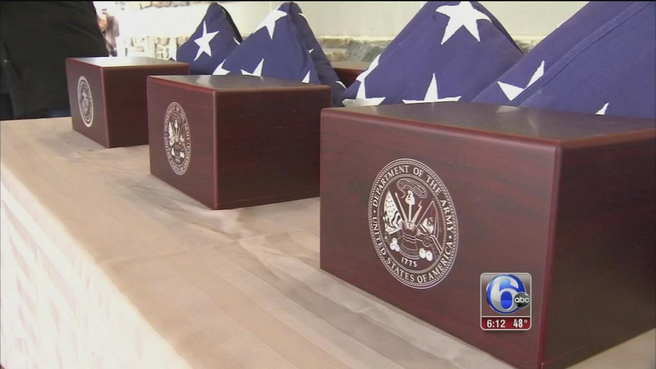 VIDEO: Proper burial for servicemen